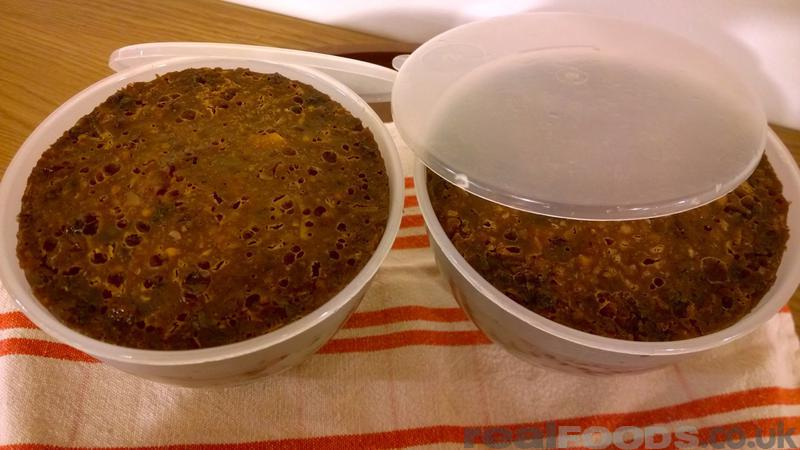 Christmas Pudding Gluten and Wheat Free
