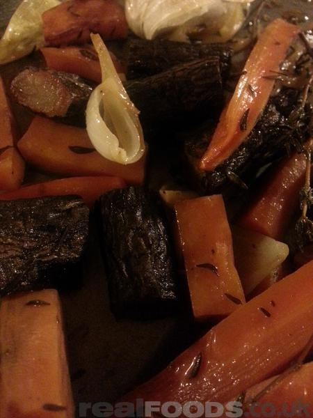 Roasted Carrots and Salsifies Recipe