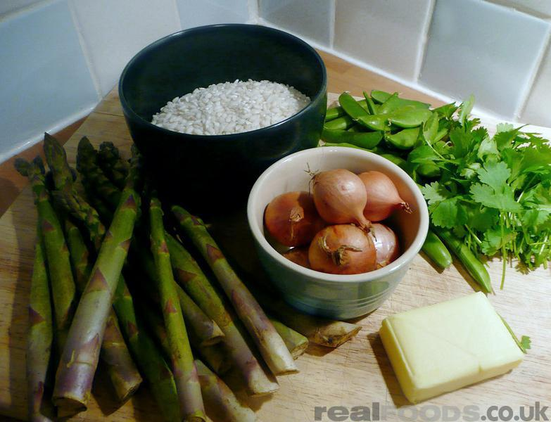 Vegetarian Spring Vegetable Risotto Recipe