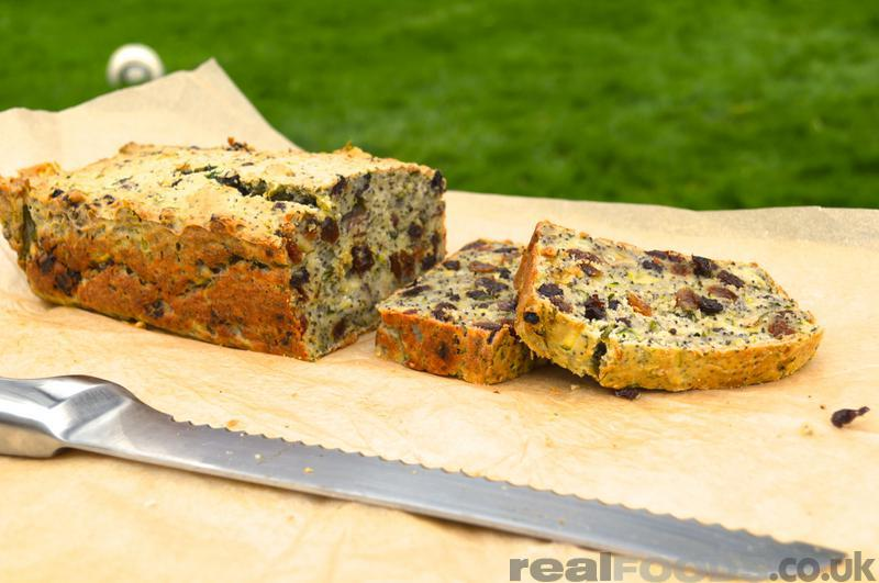 Courgette Poppy Seed Gluten Free Cake