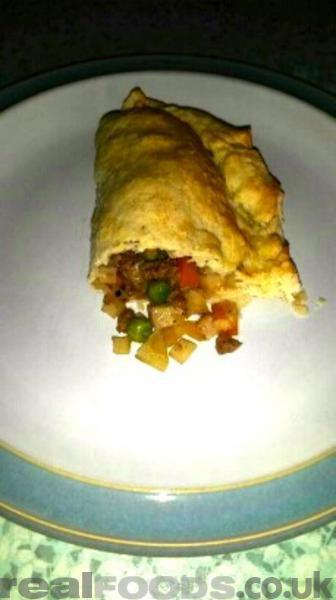 Dairy and Gluten Free Vegetable Pasties Recipe