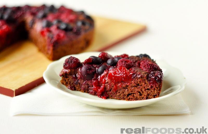 Low Fat Cake With Fruit Puree