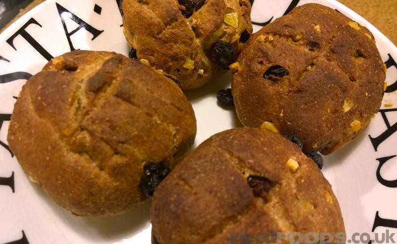 Vegan Healthy Easter Hot Cross Buns Recipe