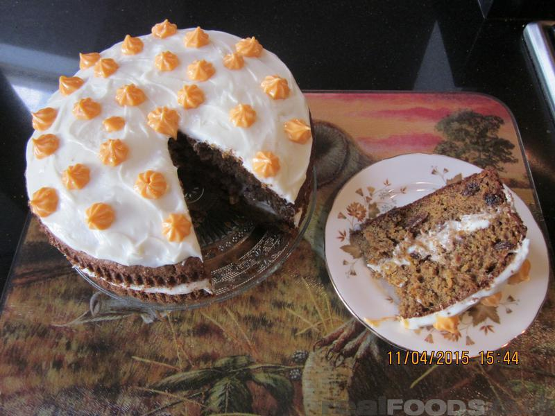 Spelt Carrot Banana And Dried Fruit Cake Recipe From Real