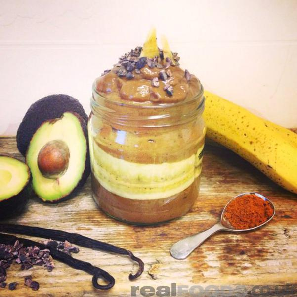 Raw Vegan Chocolate And Cayenne Pepper Pudding Recipe
