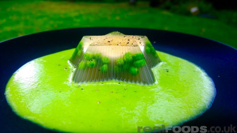 Egg and Green Pea Aspic Recipe