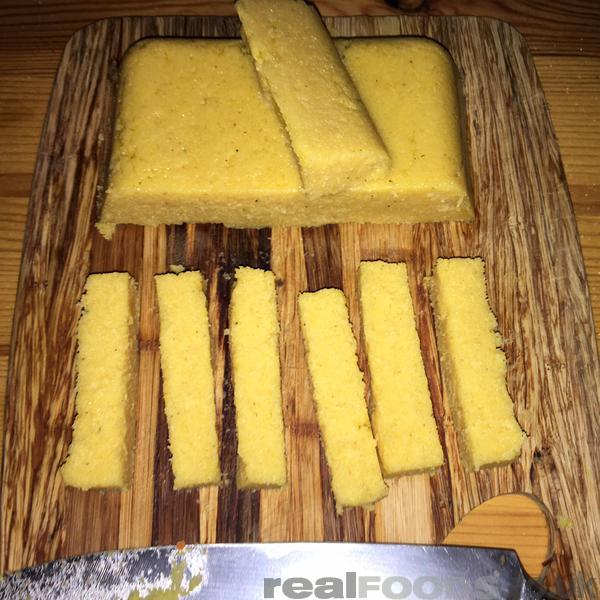 how to make polenta chips