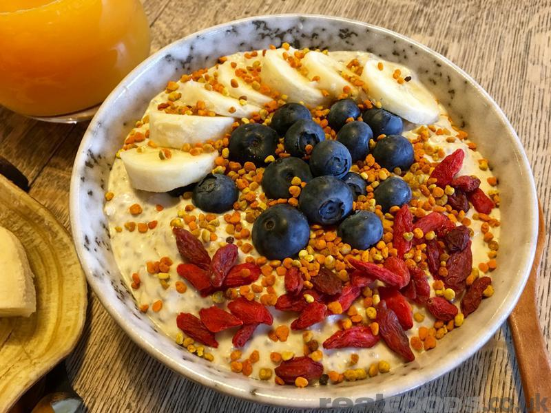 Overnight Oat And Chia Porridge Recipe From Real Foods
