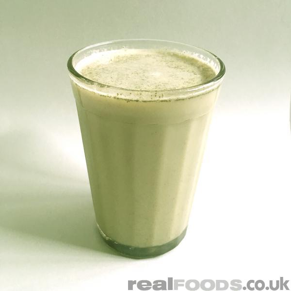 Delicious Almond Milk Matcha Latte Recipe From Real Foods