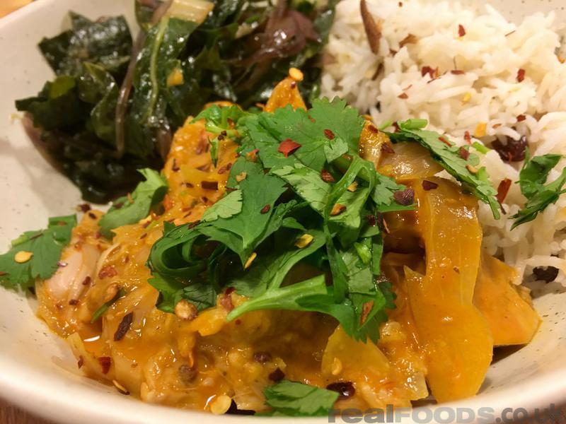 Thai Style Vegan Jackfruit Curry Recipe