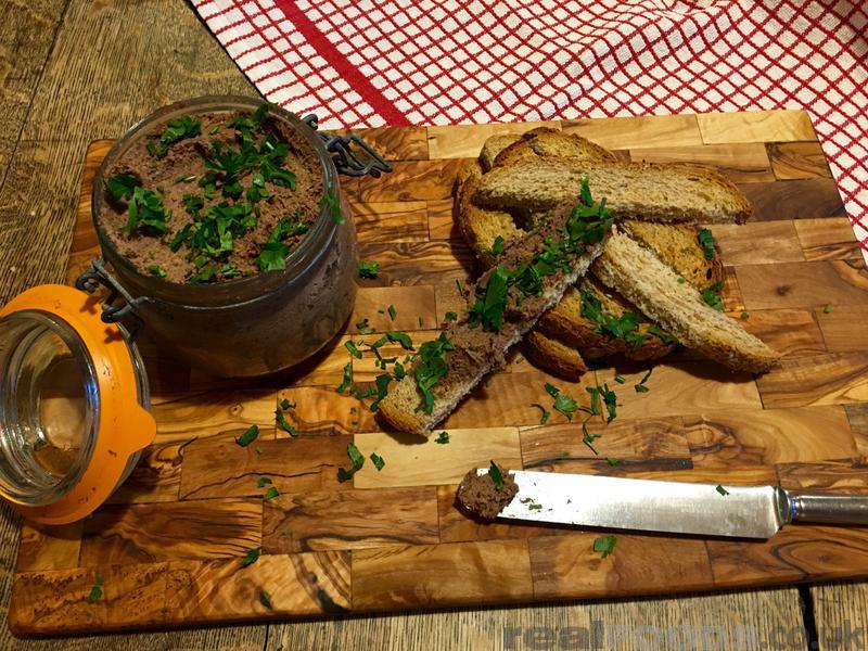 Mushroom And Lentil Faux Gras Recipe From Real Foods