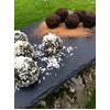 Raw Vegan Snack Spirulina Cacao And Coconut Energy Balls Recipe thumbnail image