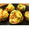 Red Bell Pepper And Feta Egg Muffins Recipe thumbnail image