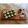 Avocado and Cucumber Sushi Maki Rolls Recipe from Real Foods thumbnail image