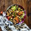 Smoked Tofu and Mushroom Salad Recipe thumbnail image