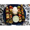 Vegan Smoked Tofu and Vegetable Kebabs Recipe thumbnail image