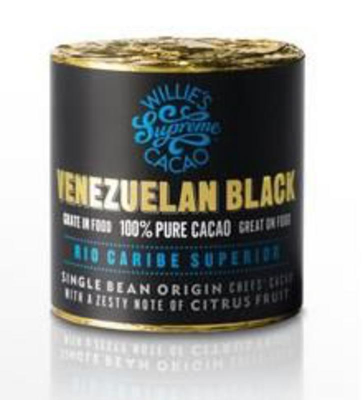 Willies Cacao Block Venezuelan Black