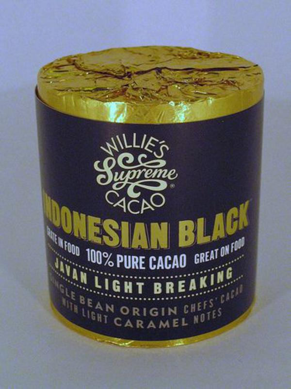 Willies Cacao Block Javan Light Breaking
