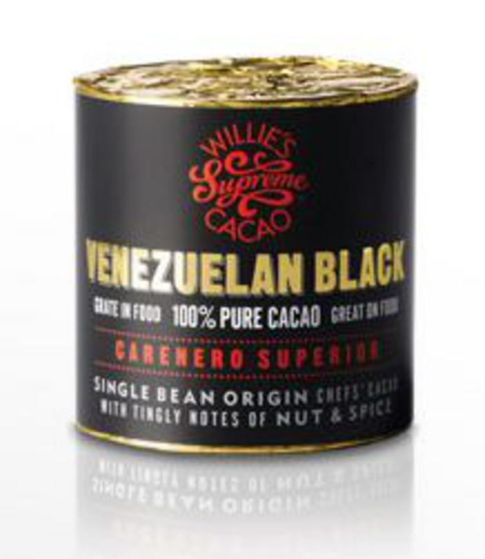 Willies Cacao Block Venezuelan Black Superior