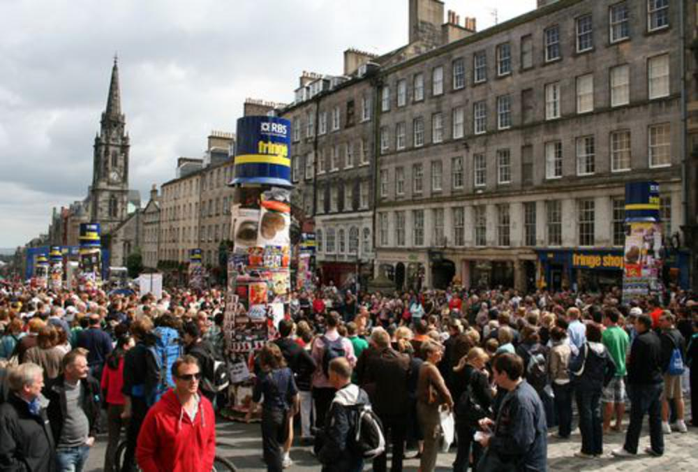 people at the edinburgh festival