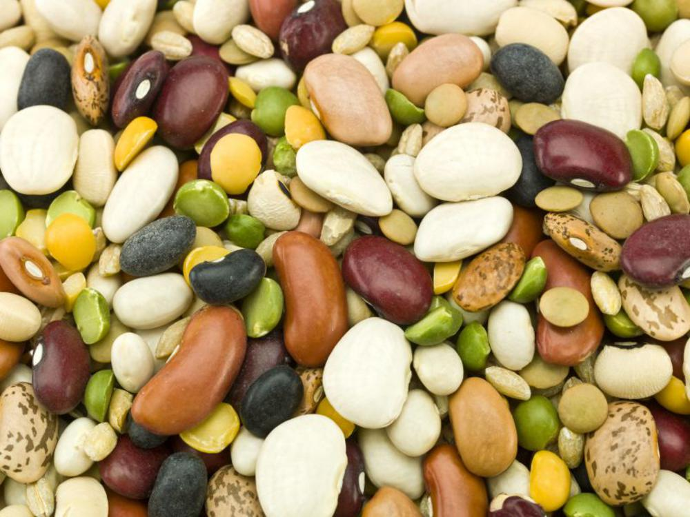 mixture of different beans