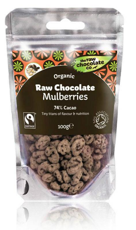 raw choc mulberries