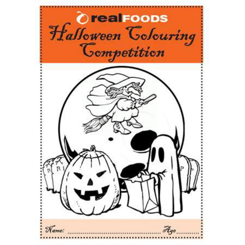 Kids Colouring competition halloween