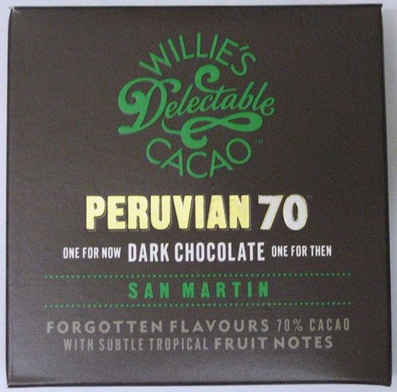 Willies Cacao Peruvian 70