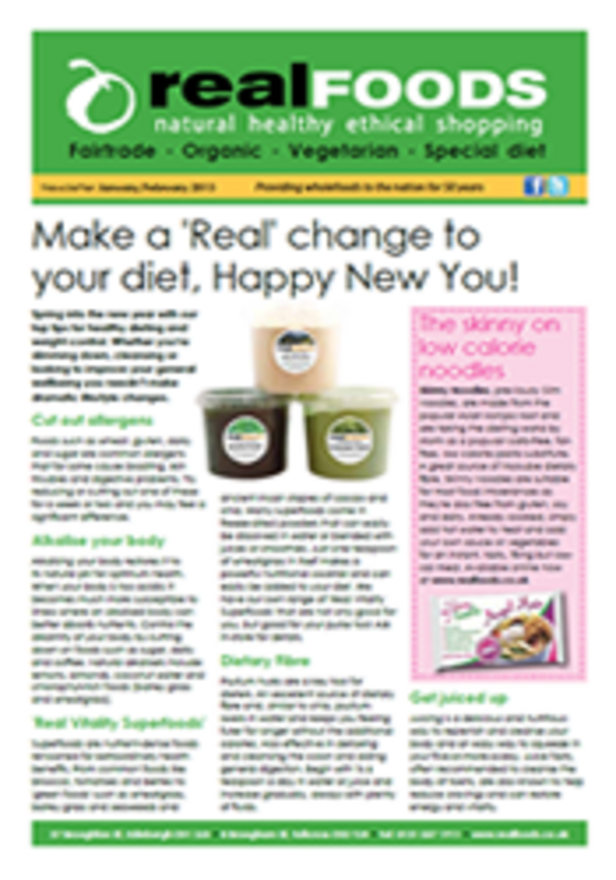 real foods 2013 January February newsletter