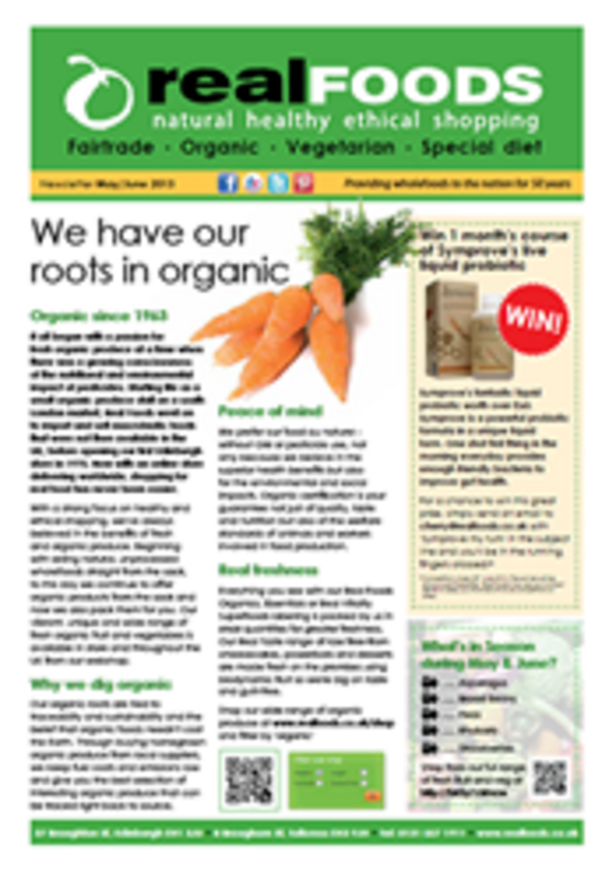 real foods 2013 March April newsletter