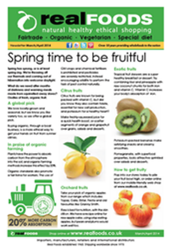 real foods 2014 March April newsletter