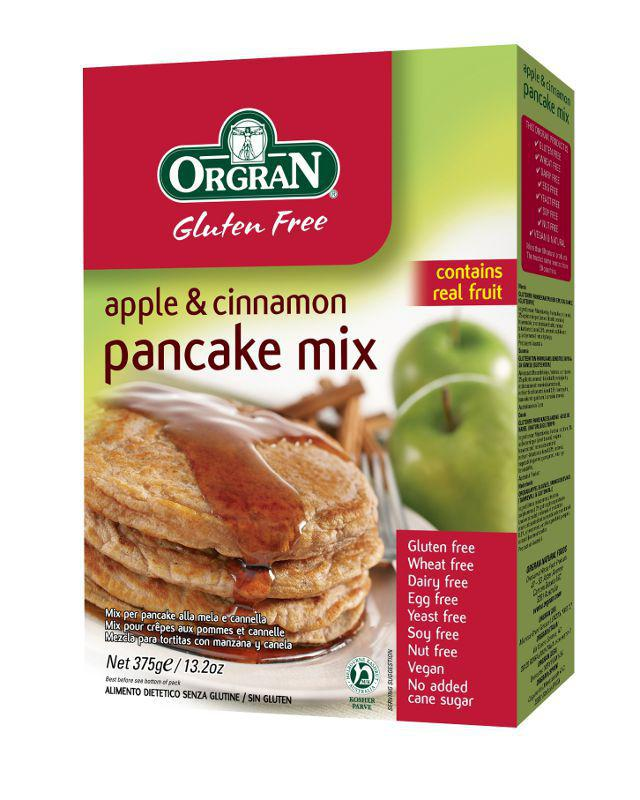 Real Foods readmade Pancake Mixes Gluten Free Vegan