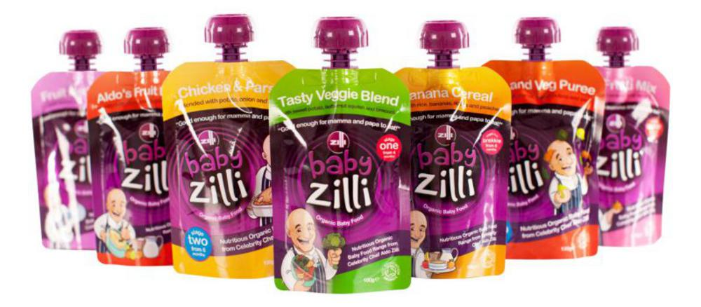 Baby Zilli, organic and delicious