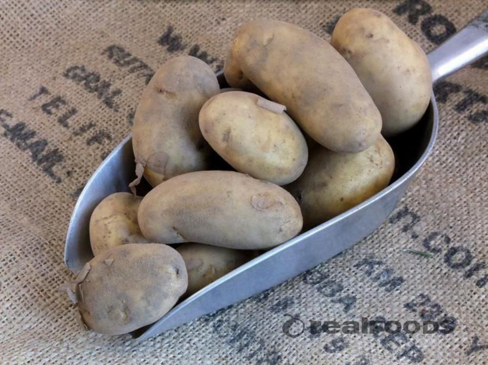 Organic Potatoes from Real Food Jersey Royals