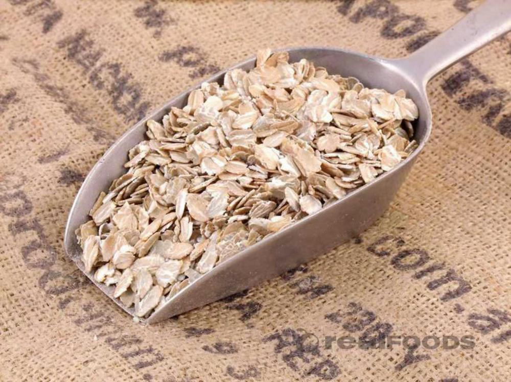 Rye Flakes Real Foods Muesli Base
