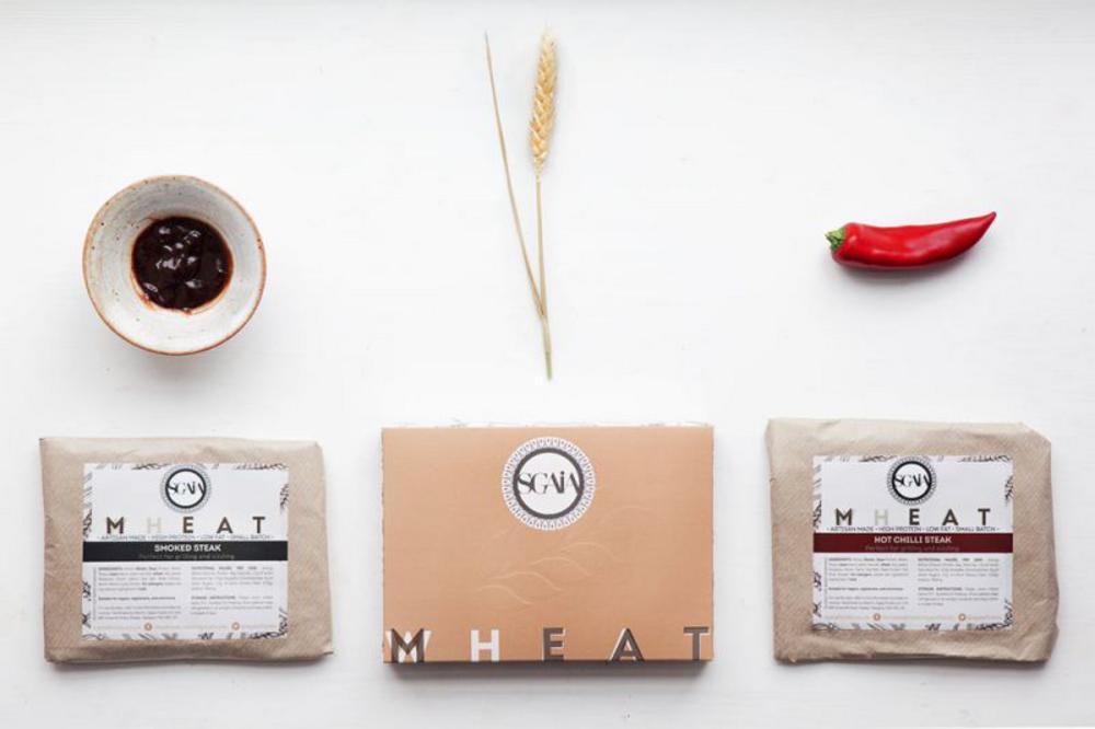 Sgaia Mheat Seitan Vegan Vegetarian