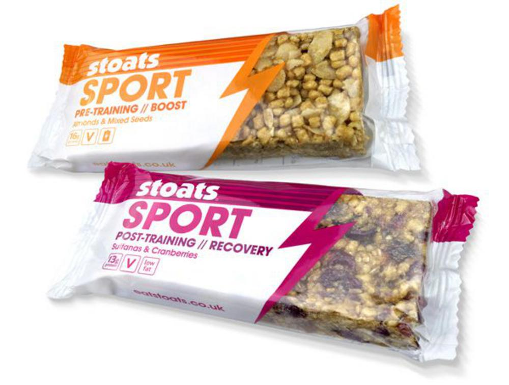 Stoats Sports Bars for Gold Standard Nutrition