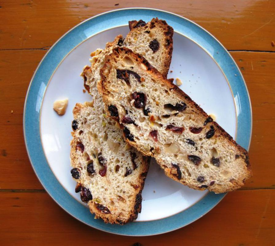 Independent Reviewer on making a tipsy Stollen