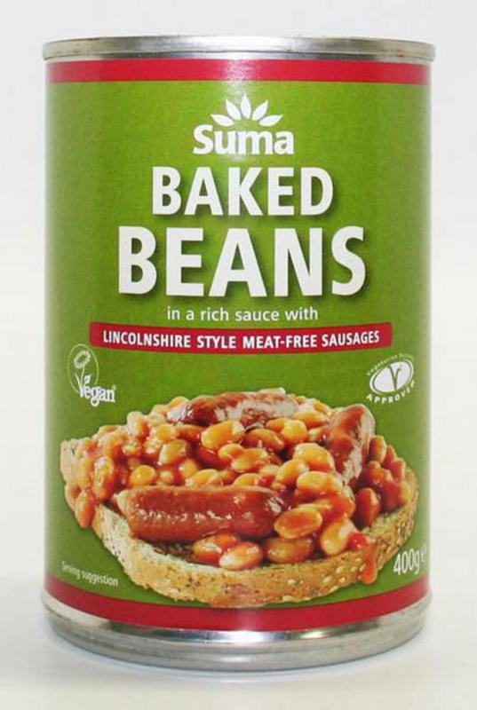 Meat Free Lincolnshire Sausage Baked Beans