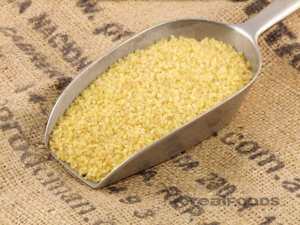 Bulghar Wheat Coarse Real Foods