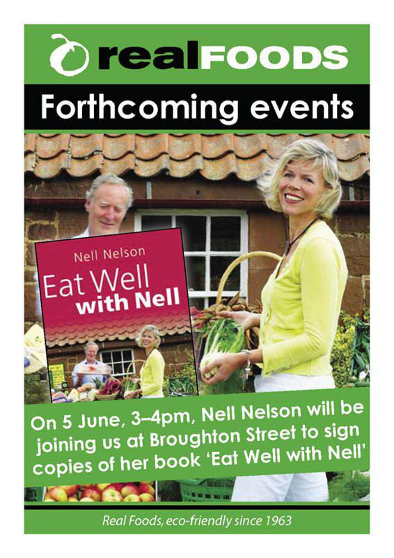 Nell Nelson Book Signing Eat Well With Nell