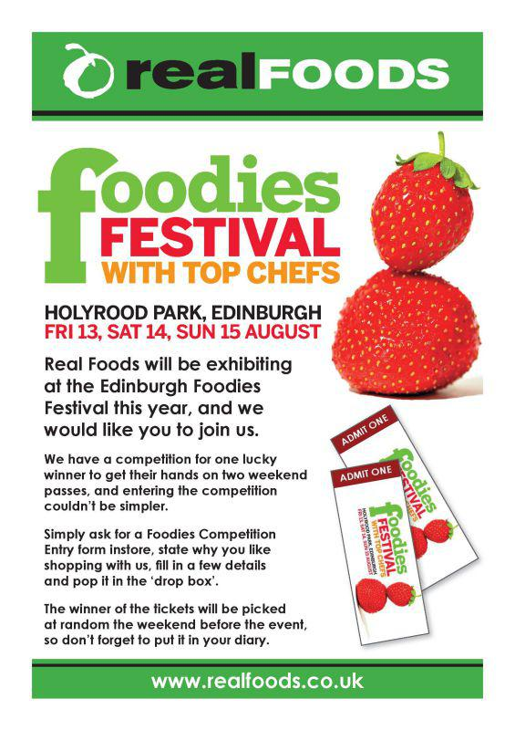 Join us at the Foodies Festival