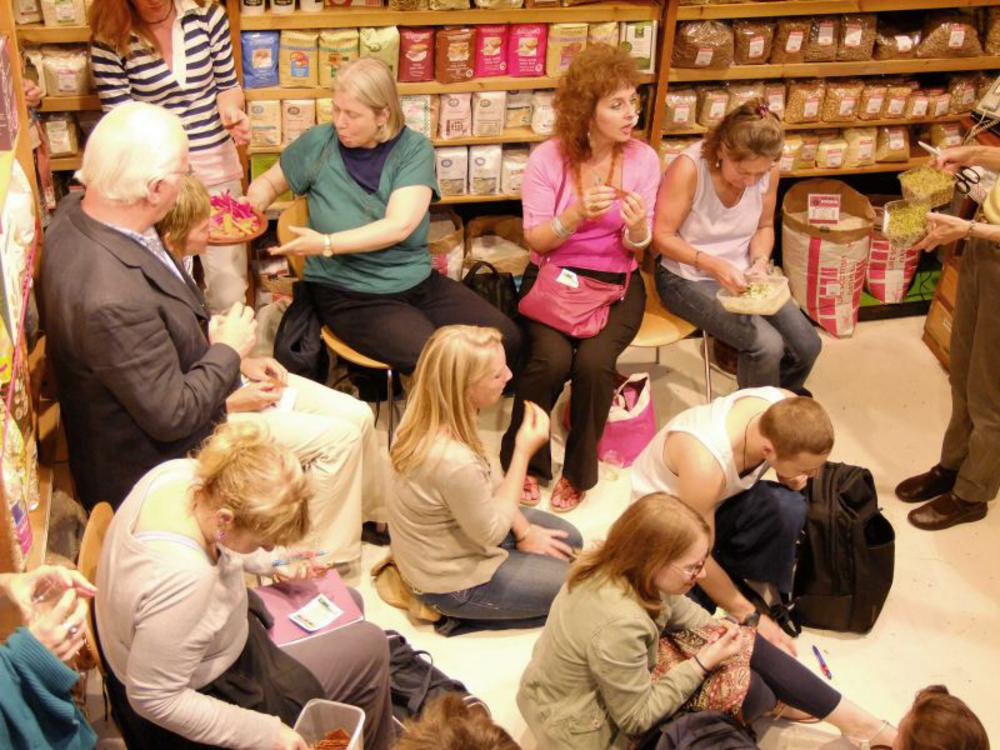 Review of our Raw Food Evening