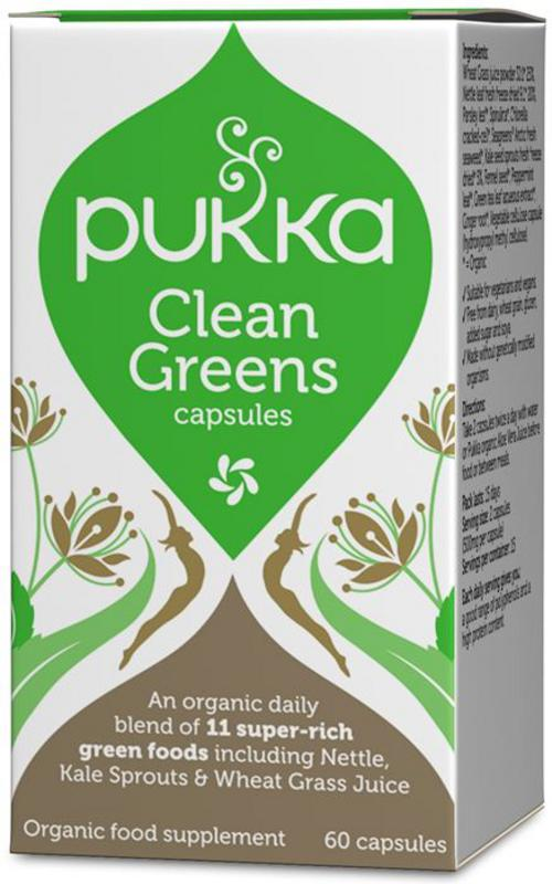 Pukka Clean Greens Prize at Real Foods