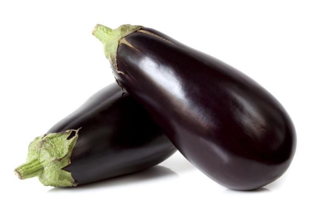Two Real Foods Organic Aubergines