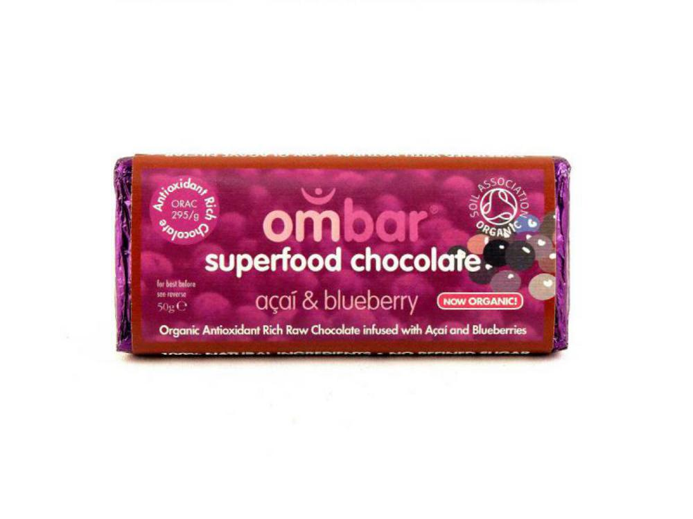 raw superfood chocolate bar