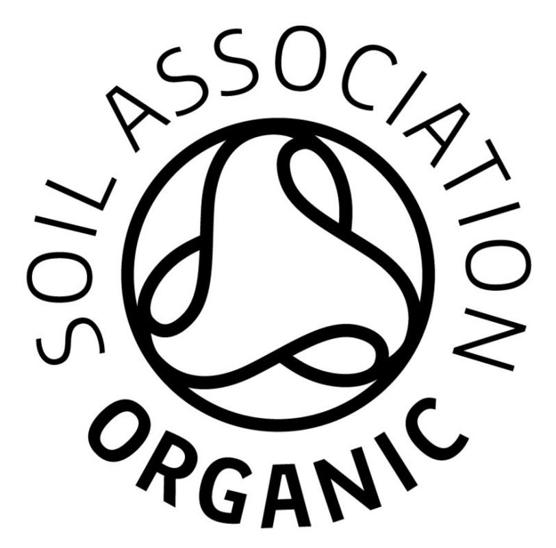 Real foods and the soil association for Organic soil uk