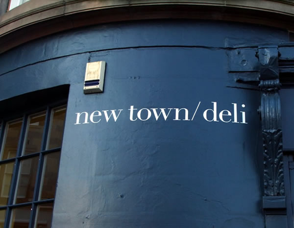 New Town Deli entrance