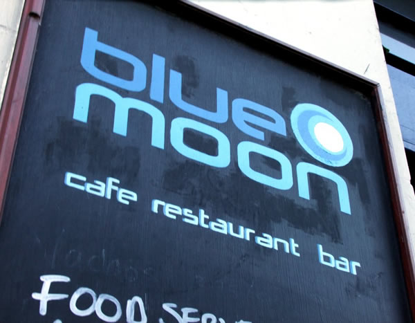 Blue Moon sign
