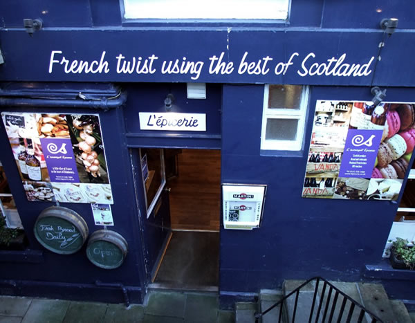 French Twist using the Best of Scotland entrance